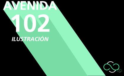 Exposición Avenida 102 Ilustración