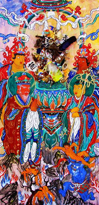 Kristigarbha Buddha en el Infierno