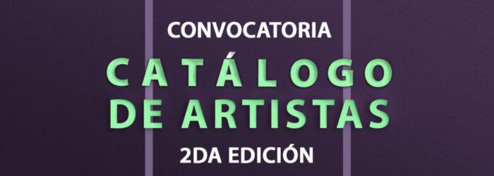 Catálogo de artistas MUVIPA 2a. edición