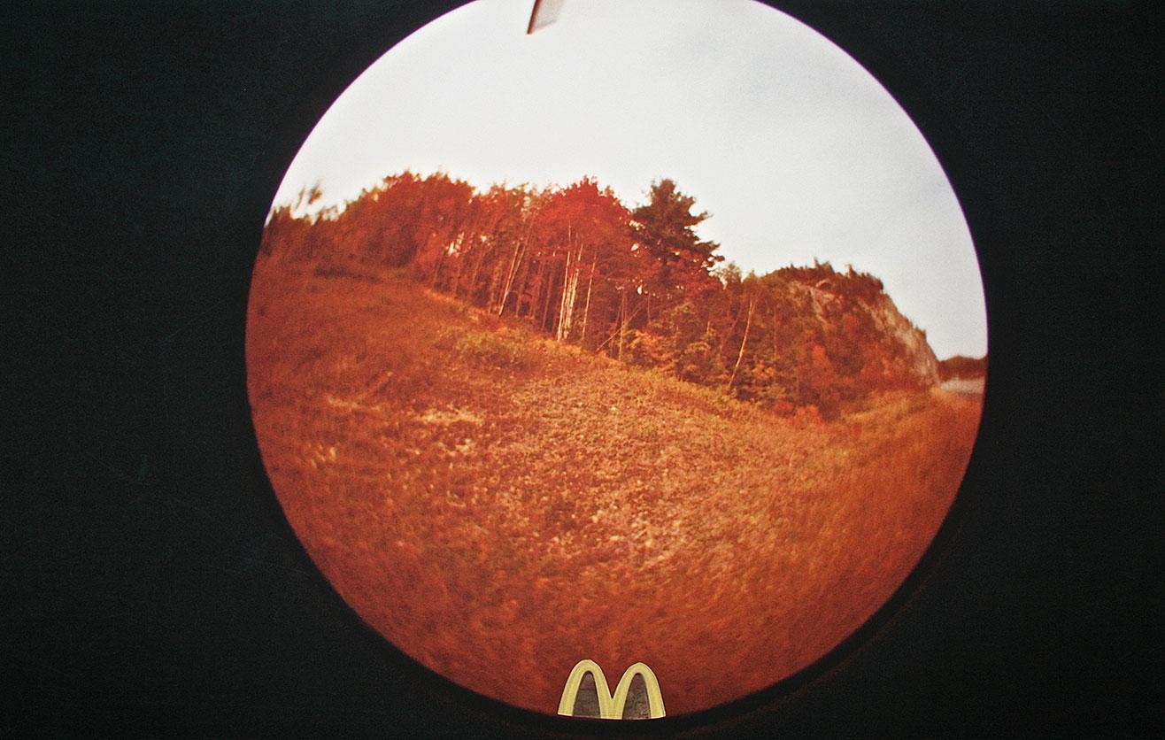 Mc View Collage sobre papel 35x 55 cm 2018