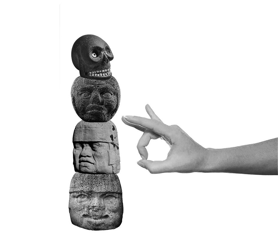 Collage Digital, impresión glicée sobre papel de algodón | Medidas 21 x 27 cm | Año: 2019