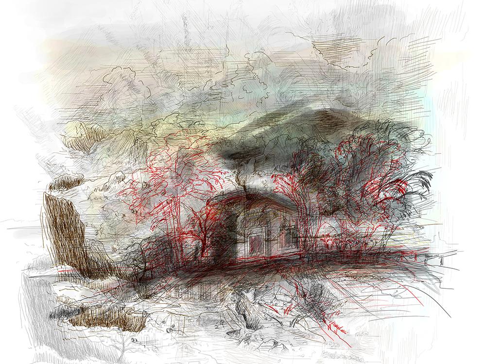 17_Casas Quma en paisajes de Rembrandt y Brueghel