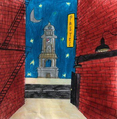 Isabella Ruiz Moreno-Walking in the night