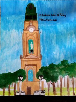 Nathalia Velazquez Gomez-111 años con el Reloj Monumental